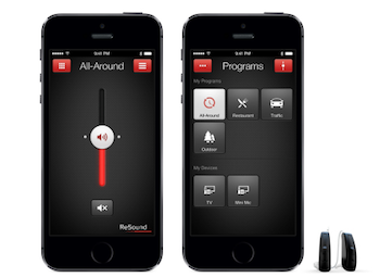 ReSound iPhone App