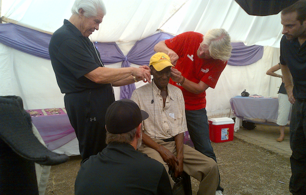 William Austin and Richard Branson Donate Gift of Hearing