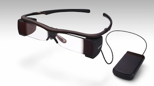 Sony Closed Caption Glasses